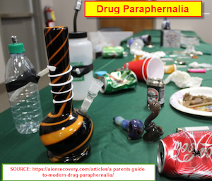 Table with drugs